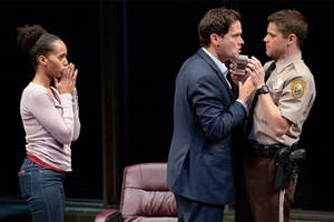 'american son' theater review: kerry washington brings #blacklivesmatter debate to broadway