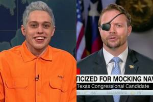 wounded vet mocked by pete davidson suggests 'snl' donate a million to veterans' groups