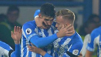huddersfield score first home goal since april to beat fulham