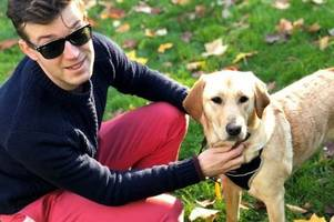 cheltenham bar twice refuses entry to couple training guide dog for the blind