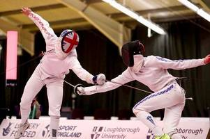dunblane fencer heads down under in bid for commonwealth glory