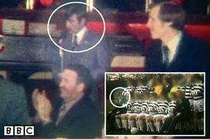 unseen video shows sex beast jim torbett at celtic boys' club prize-giving event with hoops icons jock stein and billy mcneill