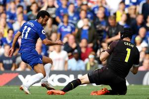 match of the day pundits clash over pedro's importance to maurizio sarri at chelsea
