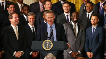 'you've got a voice. why not use it?' warriors coach steve kerr on the importance of voting