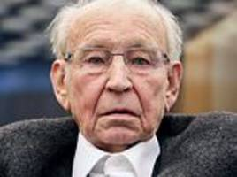 former nazi ss camp guard, 94, goes on trial in germany