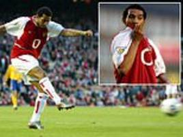 jermaine pennant reveals he was hungover after partying until 6am on day of arsenal debut