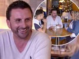 celebs go dating exclusive: gemma collins' former beau laurence hearn plays third wheel