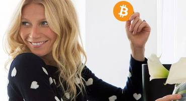 gwyneth paltrow's 'endorsement' of cryptocurrency is a shameless ad