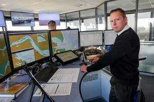 Inside the hi-tech command centre that keeps the Humber moving