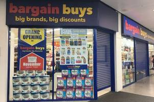 new bargain buys store replacing poundworld in grimsby - and there are lots of opening-day offers