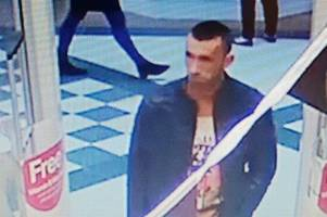 police release images of two men they want to speak to about skegness cosmetics theft