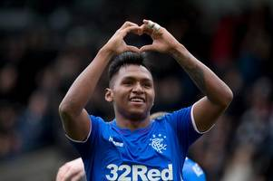 alfredo morelos can become rangers' 30 goal a season striker if he stops taking the huff insists ally mccoist