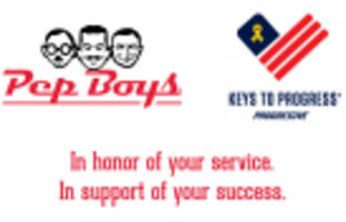 Pep Boys Supporting Progressive's Keys to Progress Vehicle Giveaway Program for Military Families