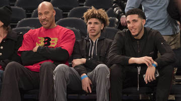 report: lamelo ball returns to high school, liangelo ball enters g league player pool