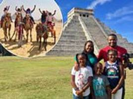 florida family of five set off on world trip to get closer to their roots after taking dna test