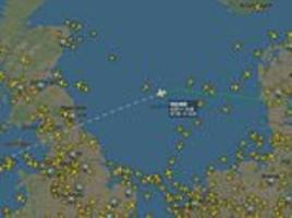 ryanair flight from gdansk in poland to dublin declares an emergency
