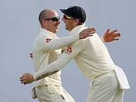 jack leach thrilled to see best mate jos buttler take catch off his bowling