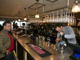 wetherspoons sales still growing strongly but pub chain warns a slowdown is looming