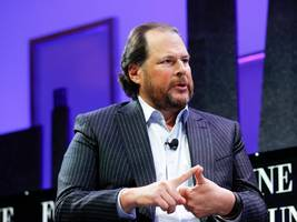 billionaire marc benioff celebrates after san francisco votes for new tax that will take millions from big tech firms to solve the city's homelessness crisis