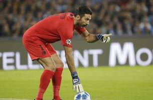 Buffon behaves when faced with another penalty
