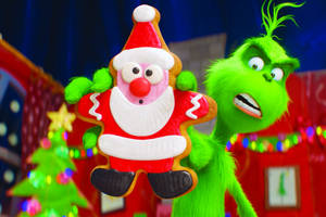'dr. seuss' the grinch' film review: benedict cumberbatch helps make third time charming