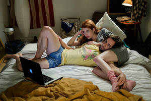 'in a relationship' film review: emma roberts and michael angarano try to liven up underwritten characters