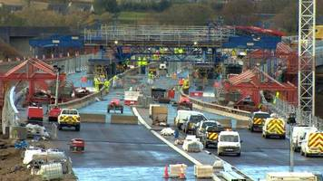aberdeen bypass bridge 'finished in december'