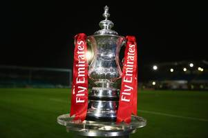 fa cup: met police play newport county while cards head to devon as excitement mounts