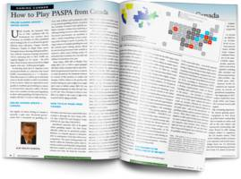 "newgioco featured in microcap review magazine's fall 2018 issue in the gaming corner article ""how to play paspa from canada"""