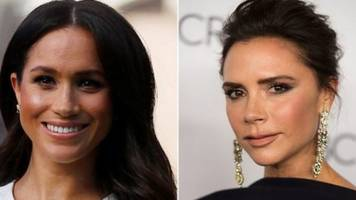 why meghan markle won't wear pal victoria beckham's dresses