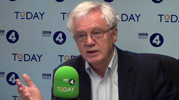 david davis: mps will 'probably' vote against brexit deal