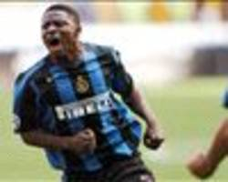 extra time: obafemi martins reunites with former inter milan teammates at san siro