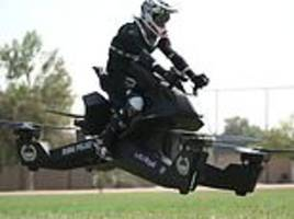 Dubai Police begins training officers how to pilot £114,000 flying motorbikes