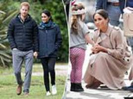 meghan and harry have 'set a game plan' to ensure their child has a 'normal upbringing'