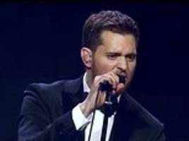 michael buble announces first world tour since son's cancer battle... after threatening to retire
