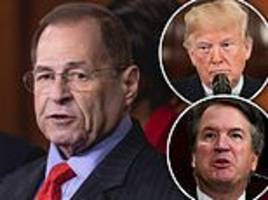 top house democrat spends train ride talking on the phone about impeaching trump and kavanaugh