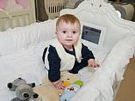 A cot with a built-in iPad?