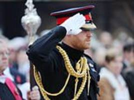 prince harry marks 100 years since end of ww1 at westminster abbey