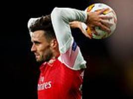 After a two-year wait Arsenal's forgotten man Carl Jenkinson finally has something to smile about
