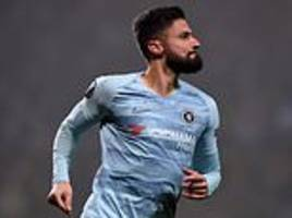 olivier giroud relieved to finally end his goal drought as he scored the winner in europa league