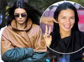 kendall jenner heads to the victoria's secret fashion show