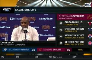 Larry Drew  responds to the reports of veterans critiques of Collin Sexton
