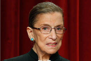 Justice Ruth Bader Ginsburg Hospitalized With Fractured Ribs After Fall