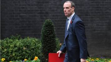 Dominic Raab under fire over Dover-Calais comments
