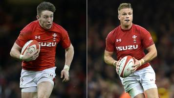 wales v australia: josh adams and gareth anscombe set to start