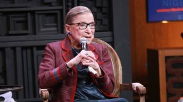 Justice Ruth Bader Ginsburg Is Hospitalized After A Fall