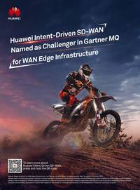 huawei positioned as a challenger in gartner's magic quadrant for wan edge infrastructure
