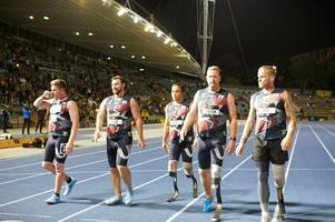 swadlincote war hero's 'amazing' experience at sydney invictus games with prince harry