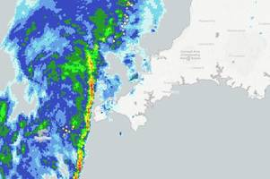 'tornado' tears off roofs in cornwall as electrical storm hits land's end