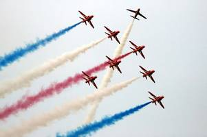hands off! mp launches bid to move red arrows out of lincolnshire